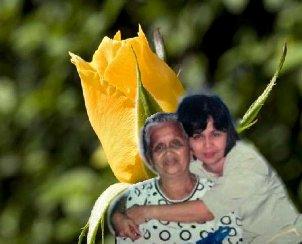I love my Mom - Hugging, kissing and saying I love you Mom!