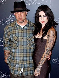 Jesse and Kat - Jesse James and Kat Von D didn't make it! Not surprised!