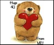 for you all - big hugs for you all nice people.