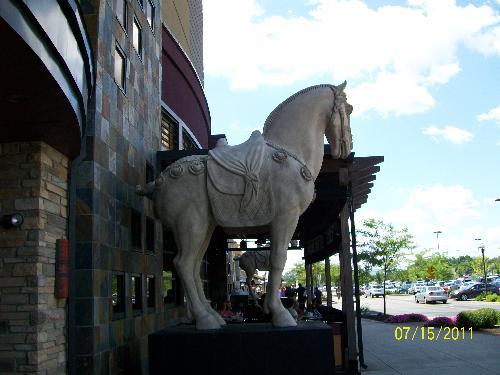 statue - horse statue