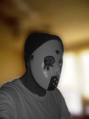 My Mask - Just a picture of me wearing my mask.