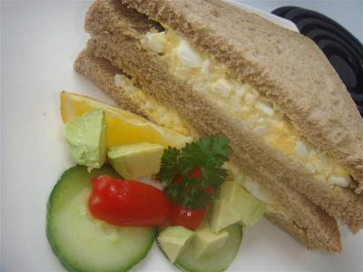 boiled egg sandwich - Yummy sandwich