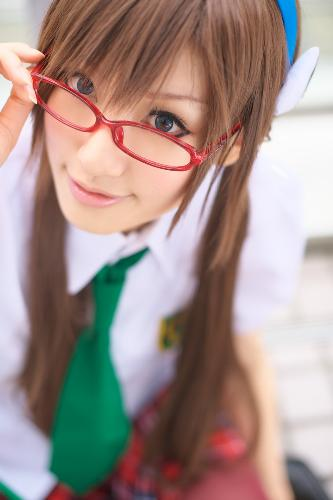 Cosplay: Saya - This is one of the greatest Japanese Cosplayer that ever lived. Saya. I love her Mari Makinami Cosplay.