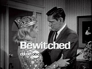 Bewitched - It started out in Black and white and Darren was played by D*ck York.