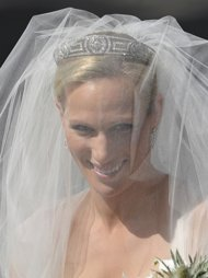 Zara Phillips - Zara Phillips is the oldest grandaughter of Queen Elizabeth II and the daughter of Princess Anne. Zara was married yesterday,in Scotland,to her long time boyfriend.