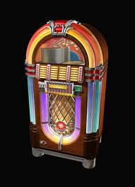 Jukebox - Every bar has one! Now a days they play cd's not records!