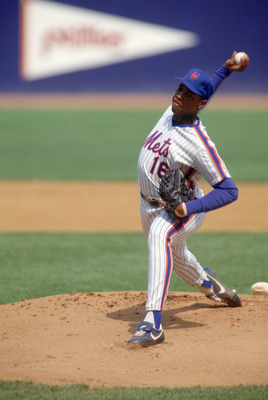 Dwight Gooden - One of the many baseball careers wasted away because of drugs!