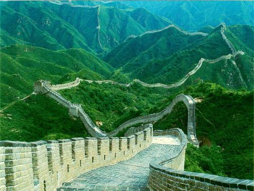 7 wonder - amazing do you think how they built it. great wall of china