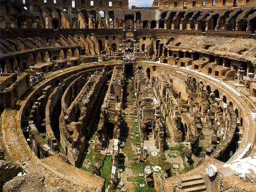 7 wonder - this is Medieval-World-colosseum
