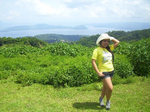 Tagaytay  - Taal Volcano at the back :)