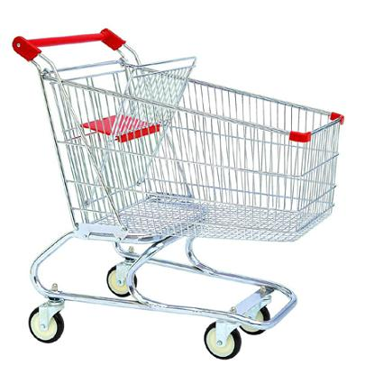shopping trolley - a shopping trolley