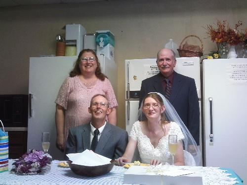 Wedding photo from this week - I am the Matron of Honor. This is Marsha32 from here at MyLot.