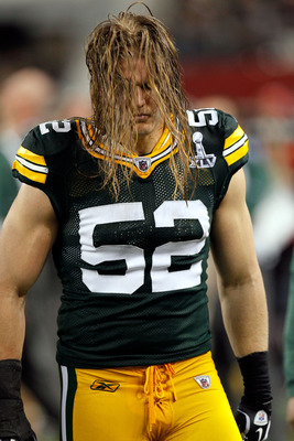 The Beast - This is Clay Matthews Linebacker for the Green Bay Packers. Love the hair!