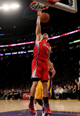 Blake Griffin - Up and coming NBA star. Last seasons Rookie of the year.