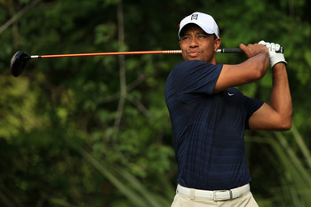 Tiger Woods - Coming back to play sooner then expected.