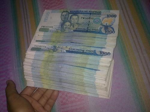 money - i earned lots of money