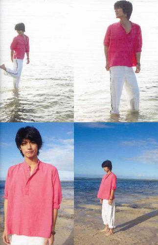 Haruma Miura in pink - Haruma Miura Letters Photobook