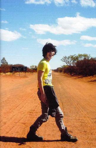 Haruma Miura in desert - Haruma Miura Letters Photobook