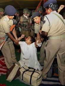 ramlila maidan incident - atrocity by delhi police