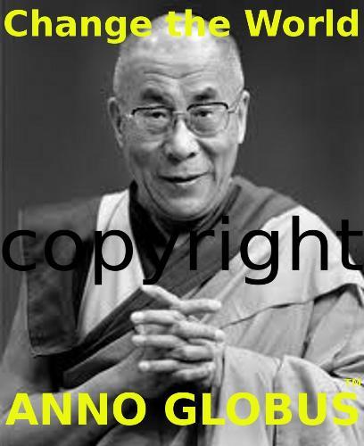 Anno Globus campaign - Dalai Lama from Tibet from the Anno Globus campaign