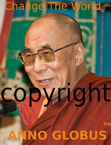 Dalai Lama from A.G. campaign - different photo of Lama from Anno Globus campaign
