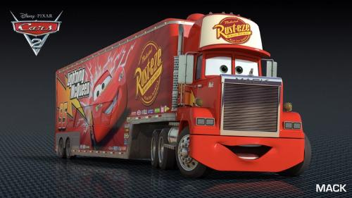 Mac - Lightning McQueens semi that takes him were he needs to travel!