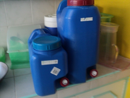 Purified Water - Waterin Containers