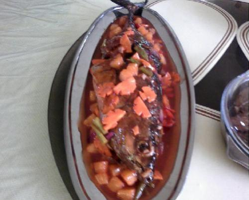 Sweet and Sour Fish - Fish Dish