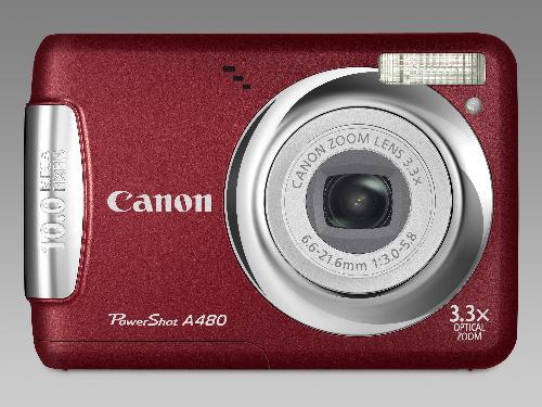 Canon Camera - A Canon digital camera.