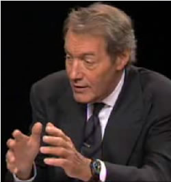 Charlie Rose  - the PBS television show Charlie Rose is really excellent and He always has several guests that he interviews with great accuracy and passion. The other day he posted Arnold Palmer earlier this week political pundits spoke about the fiscal crisis that the United States is going through. I recommend this PBS show to everyone who wants to be more informed.