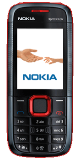 Nokia 5130 Xpress Music - A Nokia phone that boasts its capability to store and play numerous music tracks. It also has a nice music player that has a seperate control system (at the sides) which gives the user freedom of playing music while texting, browsing the net, etc..