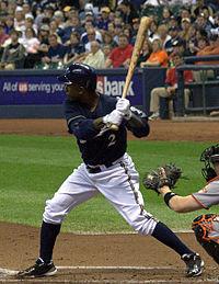 Nyjar Morgan - The Milwaukee Brewers 2rd baseman.