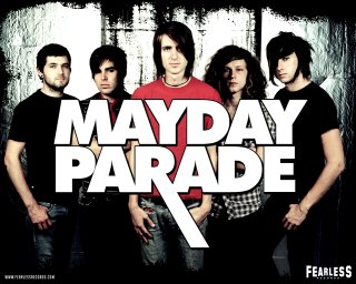 Mayday Parade - An awesome band that makes great music!  One of my favorites, they produce very good songs and simply adorable.
