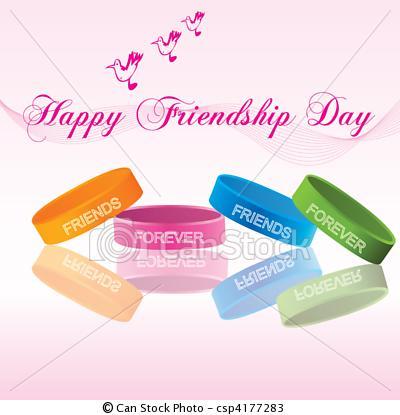 Friendship belts - Happy Friendship Day
