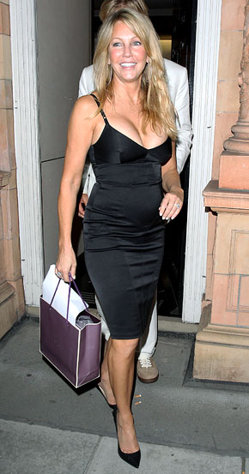 Heather Locklear - She is going on 50 and she looks amazing in this black dress!