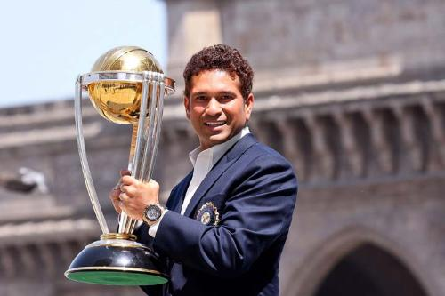 The legend sachin - He is not only a great cricketer but also a gentle man.
