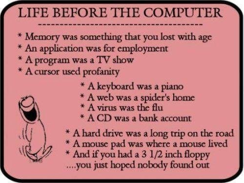 Life Before Computers - What life before computers was like.