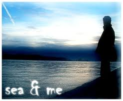 sea and me - felling about sea. take in internet