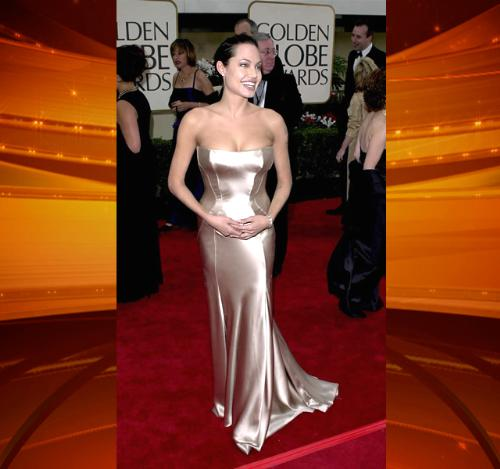 Angelia Jolie - I don't like her tattoos but she is lovely in this dress! She knows how to pick the dresses to wear!