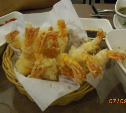 Shrimp Tempura - Restaurant food