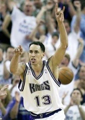 Doug Christie - He played most of his career with the Sacramento Kings. What I never understood was his wife would travel to every game on the road when I know they had kids at home! Didn't get that!