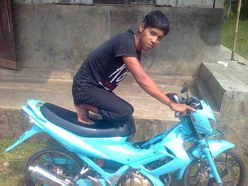 in Indonesia - Teenager in Indonesia.