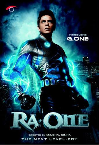 Shahrukh Khan reveals his upcoming flick Ra one - Srk the king of bollywood revealed his upcoming movie Ra one which will hit on the screen on 23 oct 2011. He looks so handsome and he will perform unique stunts.