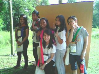 adventurous teens - a group of teenagers posing for a remembrance of the summer youth camp they attended