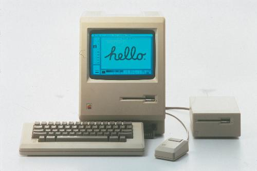 Macintosh - This is apple first OS based computer.