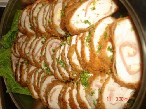 Chicken Cordon Bleau - Chicken Dish