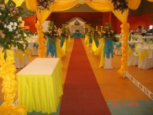 Wedding Reception - Well-decorated Place