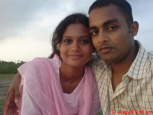 my girl friend - this is the 1st picture when we meet for the first time about two years ago..