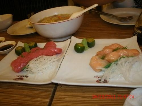 food  - eating japanese food