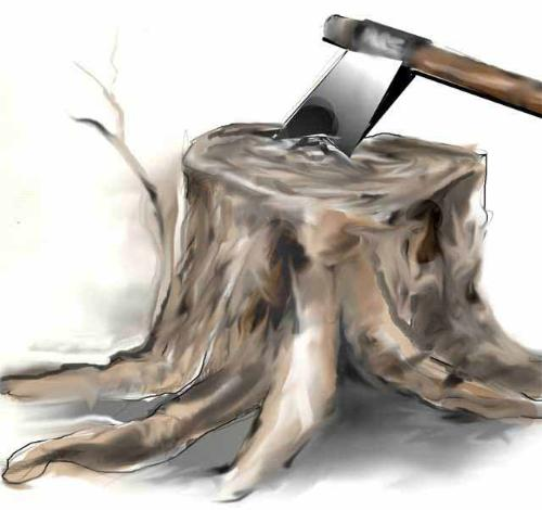 Trunk - A digital painting Rambabu